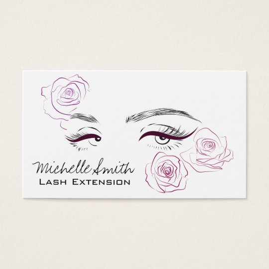 Beautiful eyes Long lashes Roses Lash Extension Business