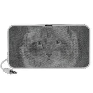 Beautiful Eyes Siamese Cat iPod Speaker