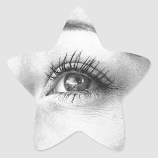 Beautiful Eyes Star Sticker