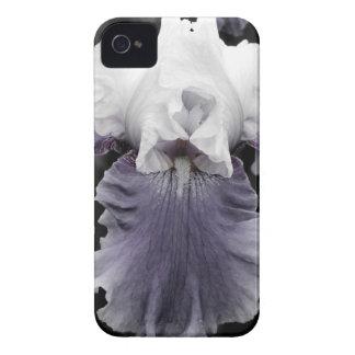 Beautiful faded purple iris print iPhone 4 Case-Mate case