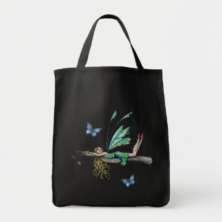 Beautiful Fairy and Butterfly Tote Bag