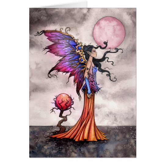 Beautiful Fairy Fantasy Art Greeting Card