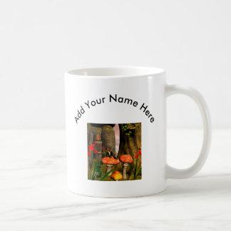 Beautiful fairy classic white coffee mug