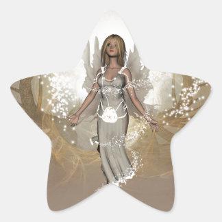 Beautiful fairy sticker