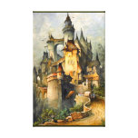 Beautiful Fairy Tale Castle by Hanns Bolz Wrapped Canvas Print