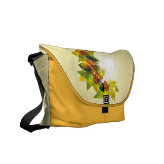 Beautiful Fall Leaves Courier Bag