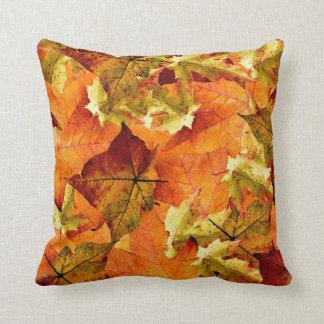 Beautiful Fall Leaves Pillow! Cushion