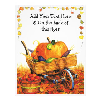 Beautiful Fall Scene 21.5 Cm X 28 Cm Flyer