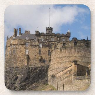 Beautiful famous giant Edinburgh Castle in Coasters