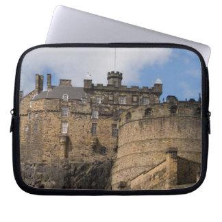 Beautiful famous giant Edinburgh Castle in Laptop Sleeve
