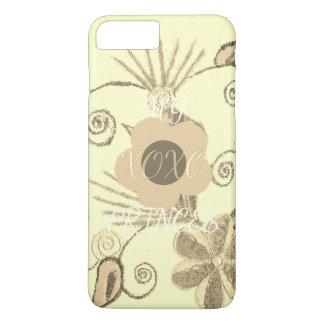 Beautiful fantastic feminine design my XOXO iPhone 8 Plus/7 Plus Case
