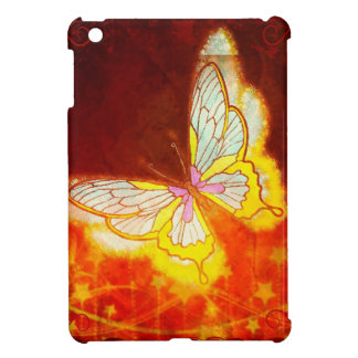 Beautiful Fantasy Butterfly Fireworks Collage iPad Mini Case