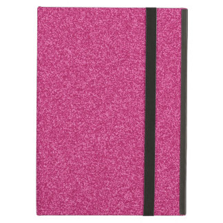 Beautiful fashionable girly hot pink glitter iPad air cover