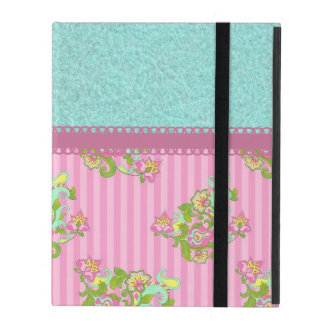 Beautiful Feminine Flower Pattern Cover For iPad