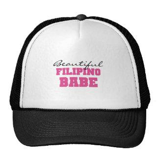 Beautiful Filipino Babe Mesh Hats