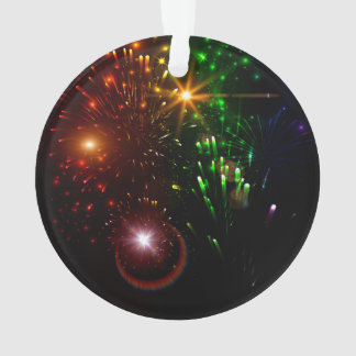 Beautiful firework ornament