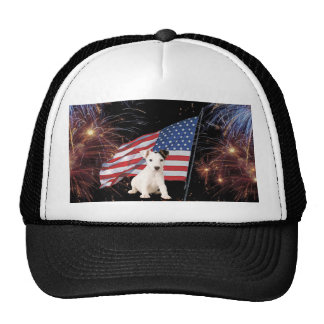 Beautiful Fireworks Celebration - Jack Russell Cap