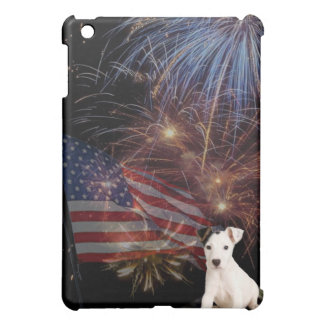 Beautiful Fireworks Celebration - Jack Russell Case For The iPad Mini
