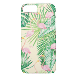 ★ Beautiful Flamingos iPhone 8/7 Case