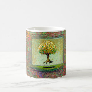 Beautiful floating tree earthy modern art My Queen Coffee Mug