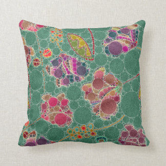 Beautiful Floral Abstract Pattern Cushion