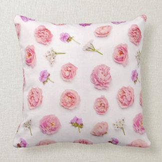 Beautiful floral arrangement cushion