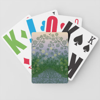 Beautiful Floral art design Poker Deck