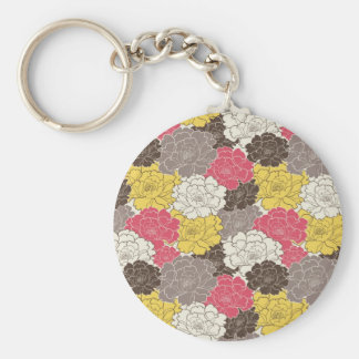 Beautiful Floral Blooms Keychains
