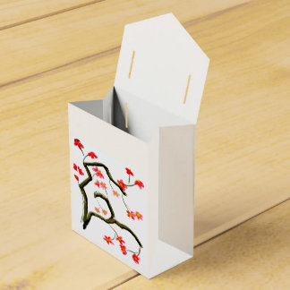 Beautiful Floral Blossom on a Favour Box