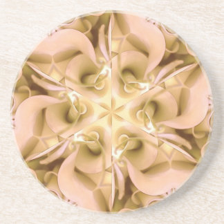 Beautiful floral coater beverage coasters