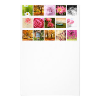 Beautiful Floral composition Custom Stationery