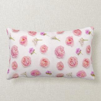 Beautiful floral composition lumbar pillow