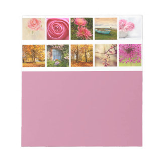 Beautiful Floral composition Memo Note Pad