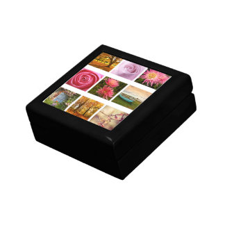 Beautiful Floral composition Small Square Gift Box