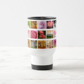 Beautiful Floral composition Stainless Steel Travel Mug