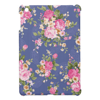 Beautiful floral design iPad mini cover