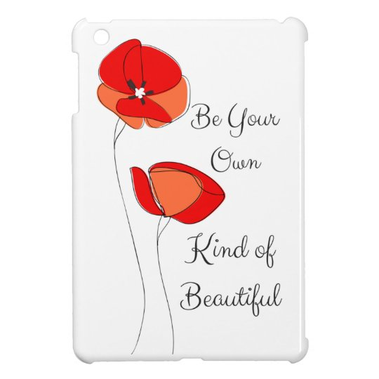 Beautiful floral ipad case
