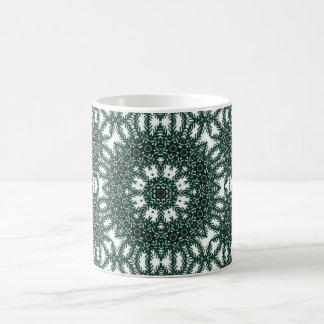 Beautiful Floral Kaleidoscope Coffee Mug