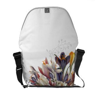 Beautiful Floral Medium Messenger Bag