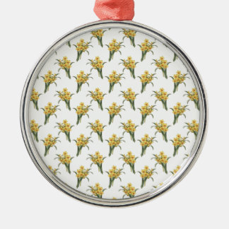Beautiful Floral Pattern Christmas Ornament