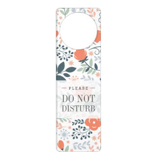 Beautiful Floral Pattern Girly Door Hanger