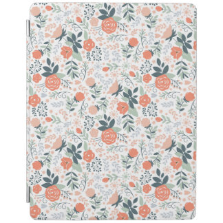 Beautiful Floral Pattern Girly iPad Cover