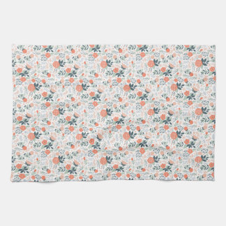 Beautiful Floral Pattern Girly Tea Towel