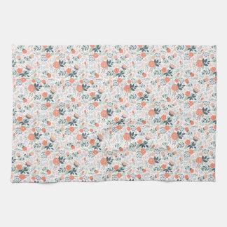 Beautiful Floral Pattern Girly Tea Towel