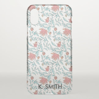 Beautiful Floral Pattern. iPhone X Case