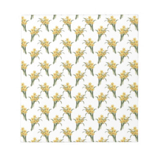 Beautiful Floral Pattern Notepad