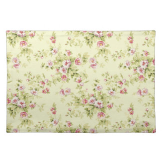 Beautiful floral pattern placemat