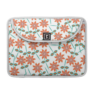 Beautiful Floral Pattern Sleeve For MacBook Pro