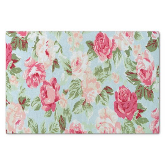 beautiful,floral,pink,vintage,victorian,shabby fun tissue paper