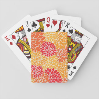Beautiful Floral Playing Cards Card Deck